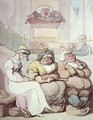 A Sleepy Congregation - Thomas Rowlandson