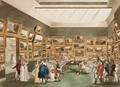 Old Bond Street Exhibition of Watercolour Drawings from Ackermanns Microcosm of London - & Pugin, A.C. Rowlandson, T.