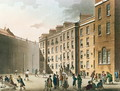 The Fleet Prison from Ackermanns Microcosm of London, Volume II, 1809 - & Pugin, A.C. Rowlandson, T.