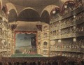 Interior of Drury Lane Theatre, 1808 - & Pugin, A.C. Rowlandson, T.