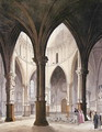 Temple Church, 1809 - & Pugin, A.C. Rowlandson, T.