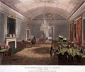 Great Subscription Room at Brookss, St.Jamess, engraved by Stadler, from Ackermanns Microcosm of London - & Pugin, A.C. Rowlandson, T.