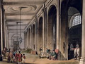 Kings Mews, Charing Cross from Ackermanns Microcosm of London - & Pugin, A.C. Rowlandson, T.
