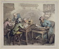 A Merchants Office, 1789 - Thomas Rowlandson