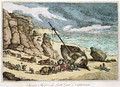 Clearing a Wreck on the North Coast of Cornwall, from Sketches from Nature, published 1822 - Thomas Rowlandson