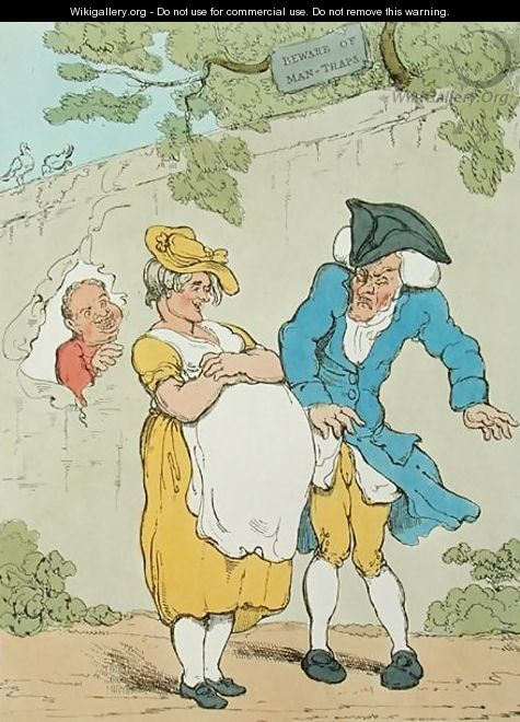 The Pregnant Woman, 1815 - Thomas Rowlandson