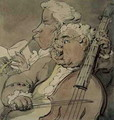 Two Musicians, c.1774 - Thomas Rowlandson