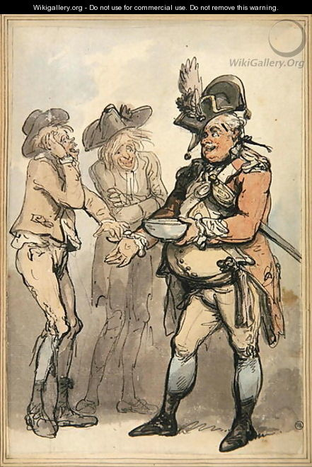 The Recruiting Sergeant, c.1790 - Thomas Rowlandson