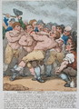 Description of a Boxing Match, 1812 - Thomas Rowlandson