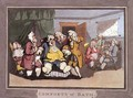 The Doctors, plate 1 from Comforts of Bath, 1798 - Thomas Rowlandson