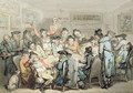 The Subscription Club Room - Thomas Rowlandson
