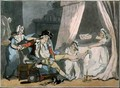 Four oClock in Town, pub. 1788 - Thomas Rowlandson