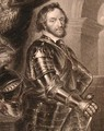Portrait of Thomas Howard 1585-1646 2nd or 14th Earl of Arundel, from Lodges British Portraits, 1823 - (after) Rubens, Peter Paul