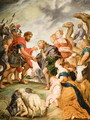 The Meeting of Esau and Jacob - (after) Rubens, Peter Paul