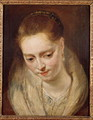 Portrait presumed to be Helene Fourment 1614-73 - (attr. to) Rubens, Peter Paul