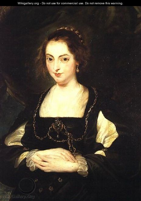 Portrait of a Lady, c.1630 - (studio of) Rubens, Peter Paul