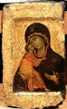 The Vladimir Madonna and Child, Russian icon, Moscow School - (circle of) Rublev, Andrei