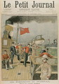 Events in the Transvaal Departure of the English troops for South Africa, from Le Petit Journal, 15th October 1899 - (after) Rudaux, Henri
