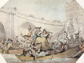 The Arrival of Ferries at London Bridge - (after) Rowlandson, Thomas
