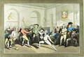 Mr H Angelos Fencing Academy, engraved by Charles Rosenberg, 1791 - (after) Rowlandson, Thomas