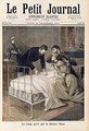 The Croup Cured by Doctor Roux, illustration from Le Petit Journal, 24th September 1894 - (after) Royer, Lionel