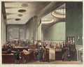 Royal Exchange, Lloyds Subscription Room, from Ackermanns Microcosm of London, 1809 - & Pugin, A.C. Rowlandson, T.