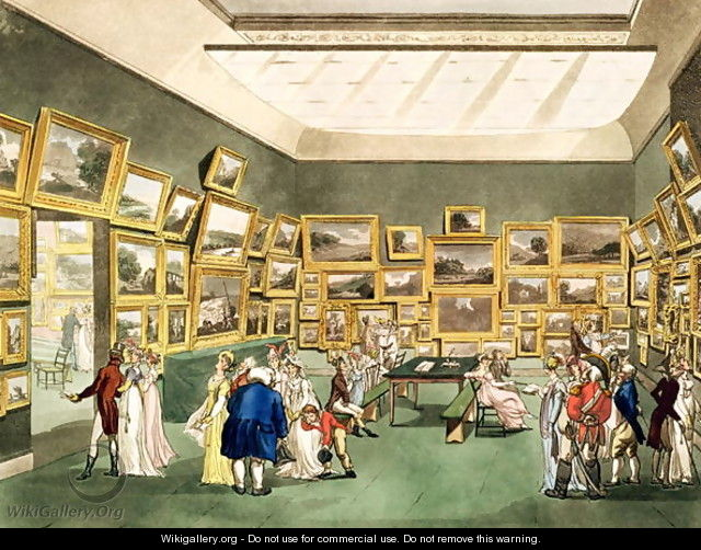 Exhibition of Watercoloured Drawings by the Society of Painters in Watercolours, from