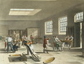 Royal Mint, Stamping Room from Ackermanns Microcosm of London - & Pugin, A.C. Rowlandson, T.