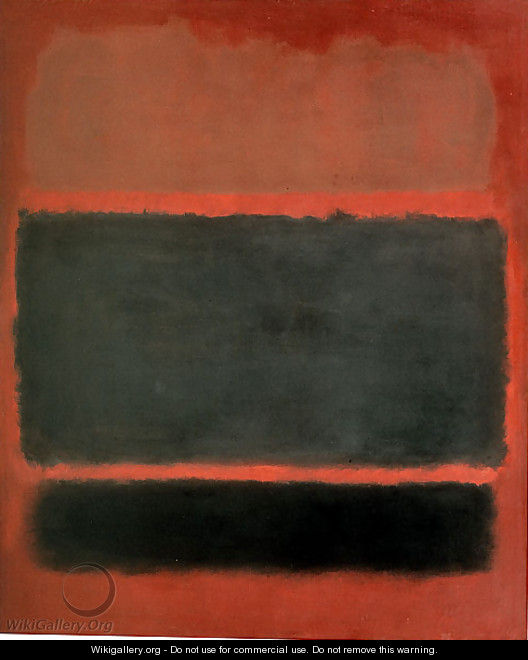 Number 20 - Mark Rothko (inspired by)
