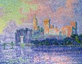 The Chateau des Papes - Paul Signac