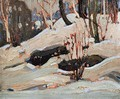 Thaw: Snow Banks - Tom Thomson