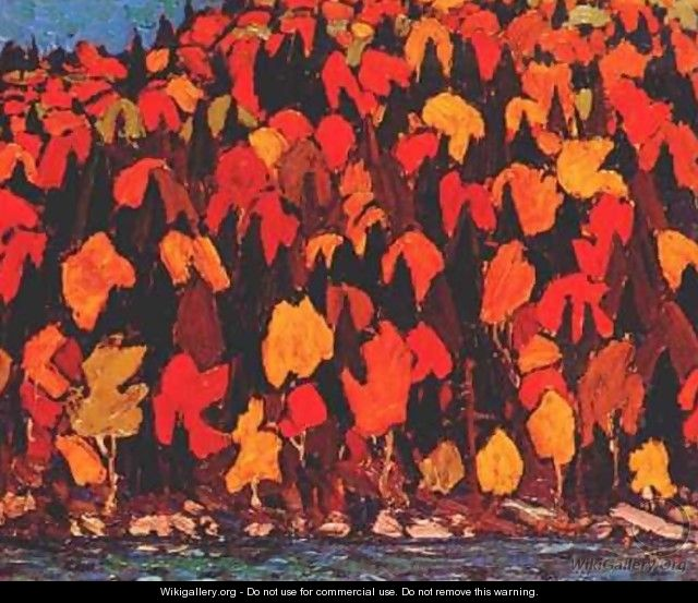 Autumn Foliage - Tom Thomson