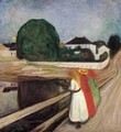 Girls on the Pier - Edvard Munch