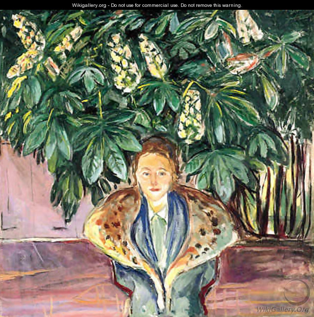 Under the Chestnut Tree - Edvard Munch