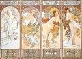 Four Seasons - Alphonse Maria Mucha