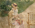 Young Woman Knitting - Berthe Morisot