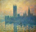 The Houses of Parliament, Sunset - Claude Oscar Monet
