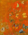 Evocation of Butterflies - Odilon Redon