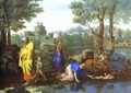 Baby Moses Saved from the River - Nicolas Poussin