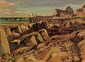 Fishing Village, New Brunswick - Arthur Lismer