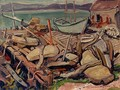 Docks at Ingonish - Arthur Lismer