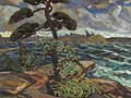 September Gale, Georgian Bay - Arthur Lismer