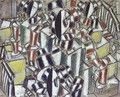 The Stairs - Fernand Leger