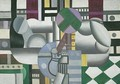 Woman and Still Life - Fernand Leger