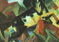 The Leaping Horse - Franz Marc