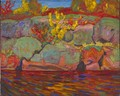 Autumn Colours: Rock and Maple - James Edward Hervey MacDonald