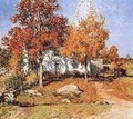October - Willard Leroy Metcalf
