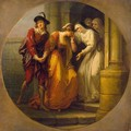 The Parting of Abelard and Heloise - Angelica Kauffmann
