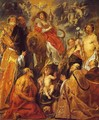 The Veneration of the Eucharist - Jacob Jordaens