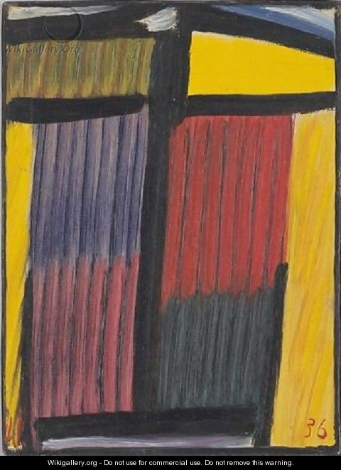 Meditation: Yellow Head - Alexei Jawlensky